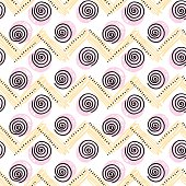 abstract pale color vector seamless pattern