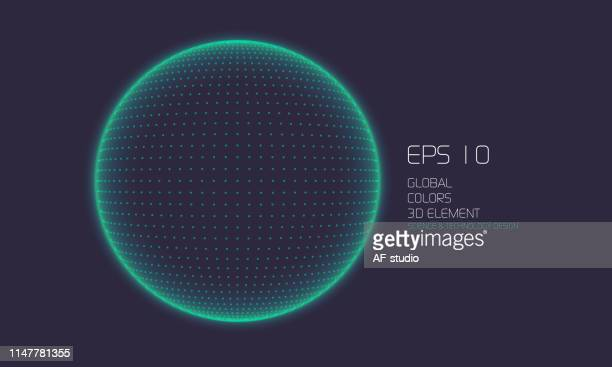 abstract particle background with copy space - grid pattern stock illustrations