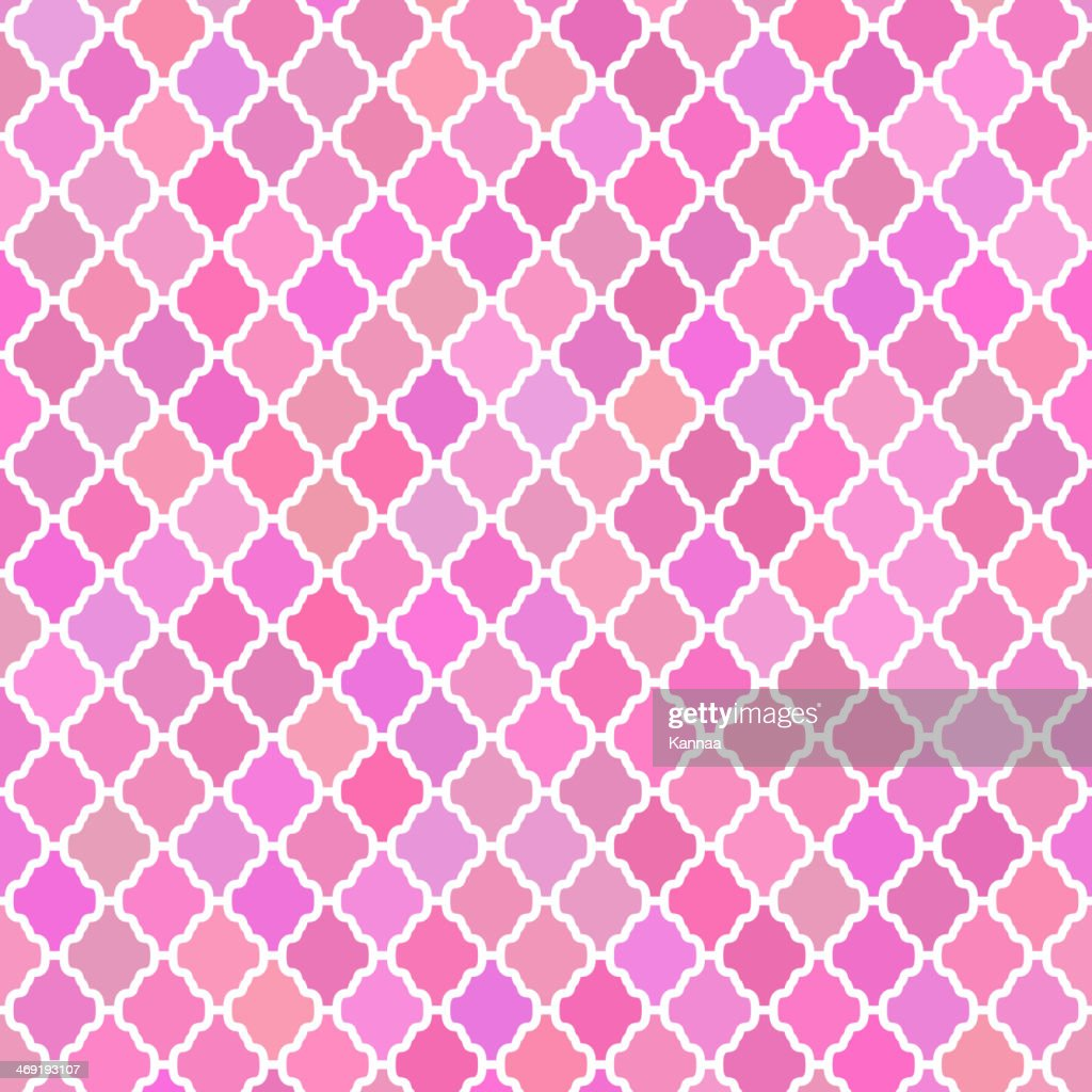 Abstract pattern background in pink colours