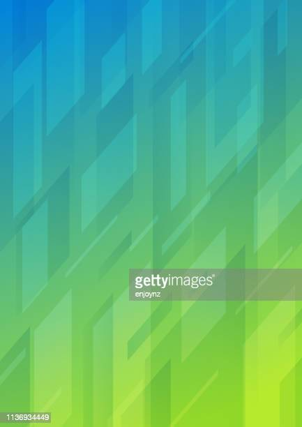 abstract pattern background - green and blue background stock illustrations