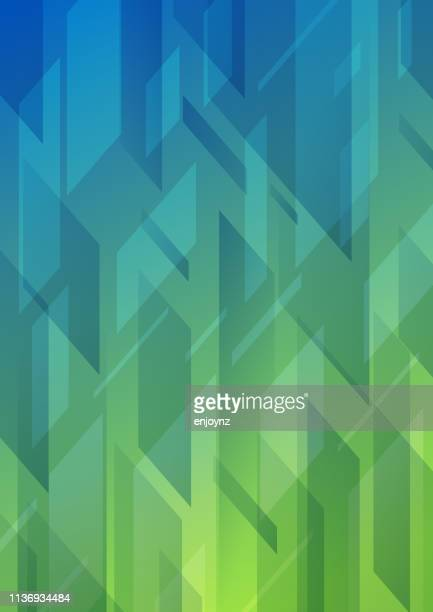 abstract pattern background - green blue background stock illustrations