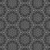Abstract pattern black and whit doodle