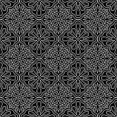Abstract pattern black and whit