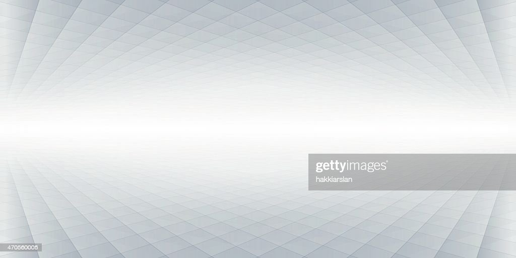 Abstract perspective banner, background