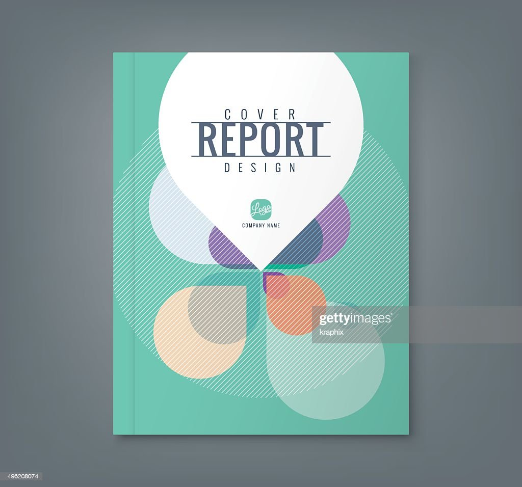 Abstract Petal shape background for business report book cover poster