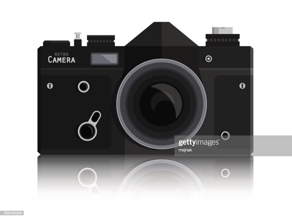 Abstract Photo Black Camera