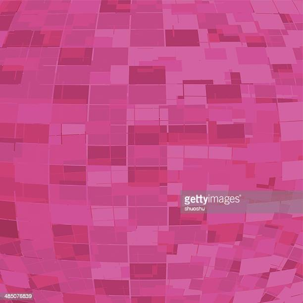 abstract pink digital shape background