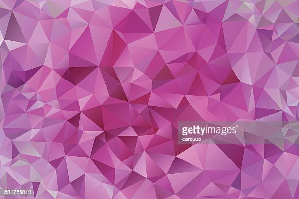 abstract pink polygonal  background - precious gemstone stock illustrations