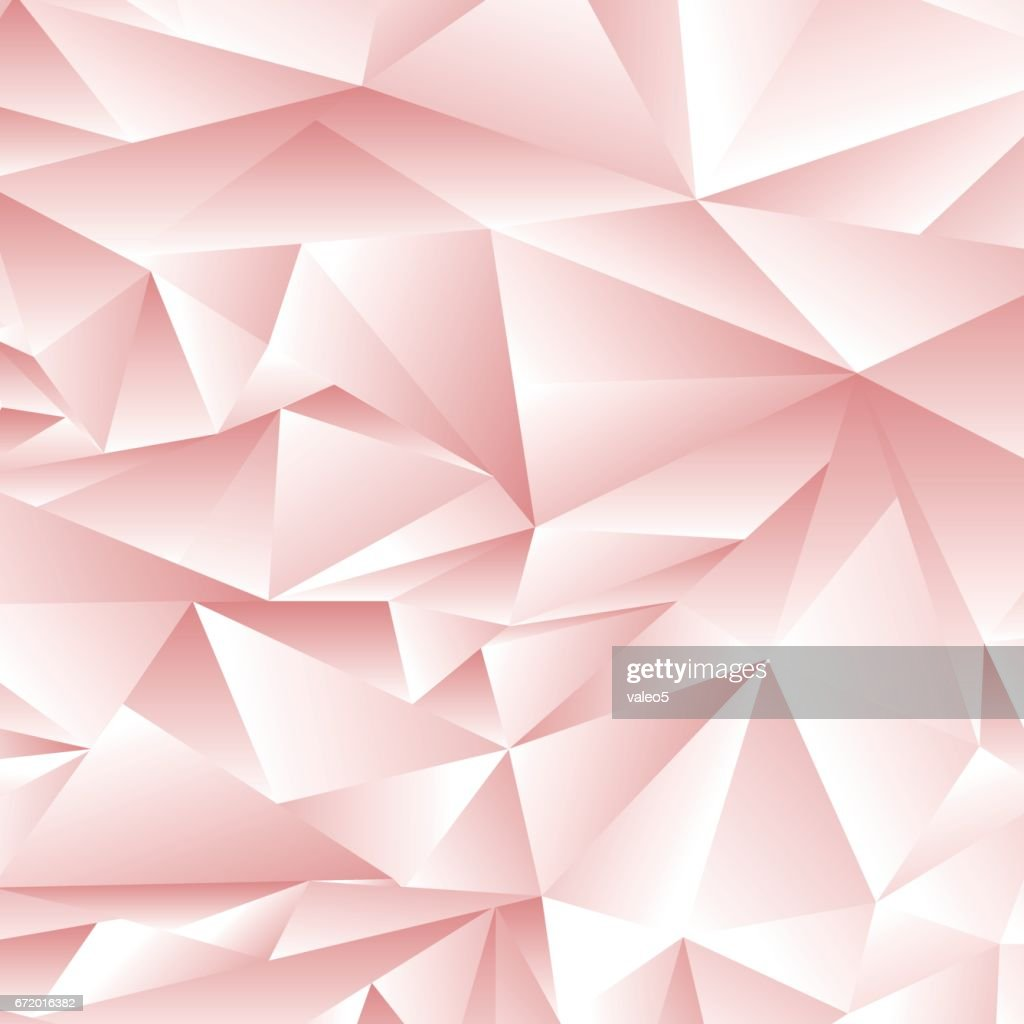 Abstract Pink Polygonal Pattern