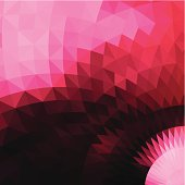 abstract pink rhombus pattern background