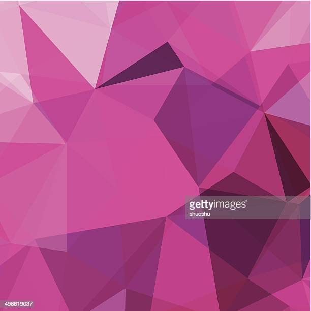 abstract pink triangle pattern background