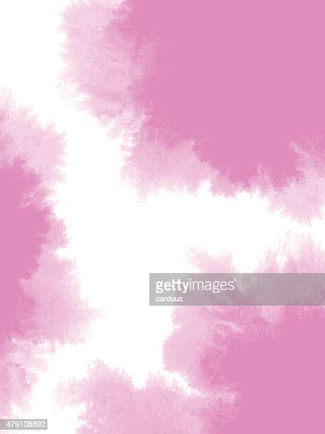 abstract pink watercolor background - spreading stock illustrations