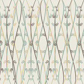 abstract plant pattern background