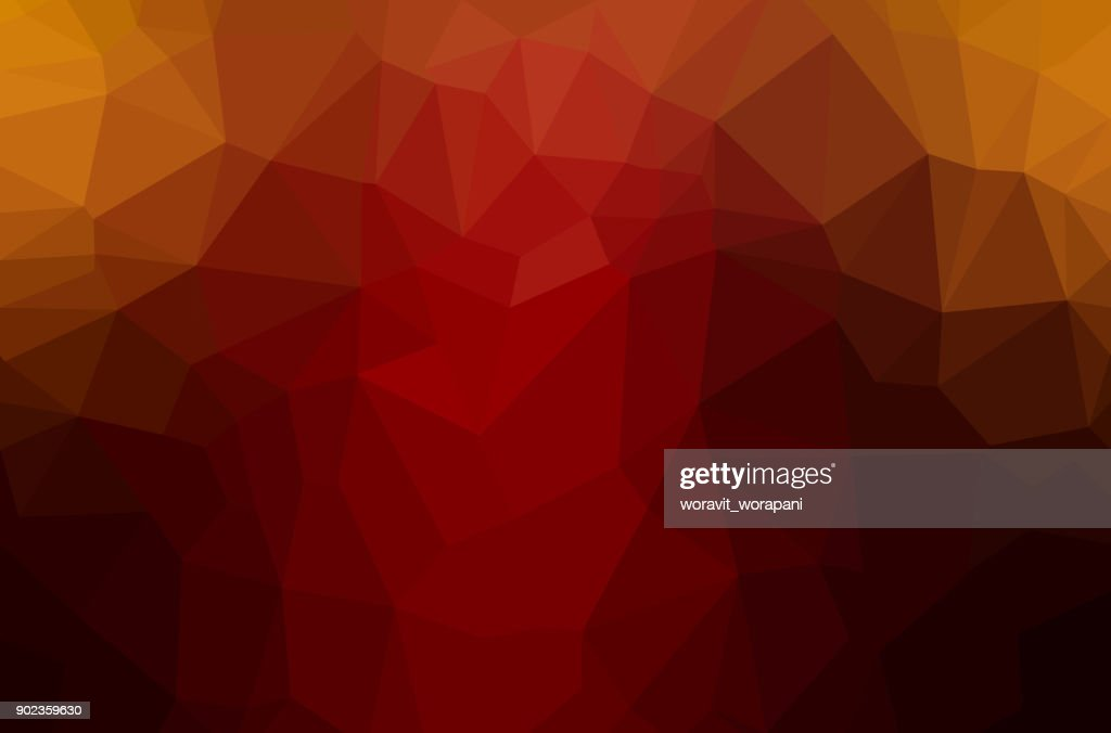 Abstract polygon geometric background.