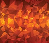 Abstract polygonal background. Triangles . Saturated contrasting elements . Vector Illustration. Eps10.