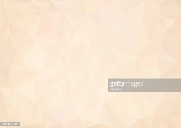 abstract  polygonal  background - beige stock illustrations