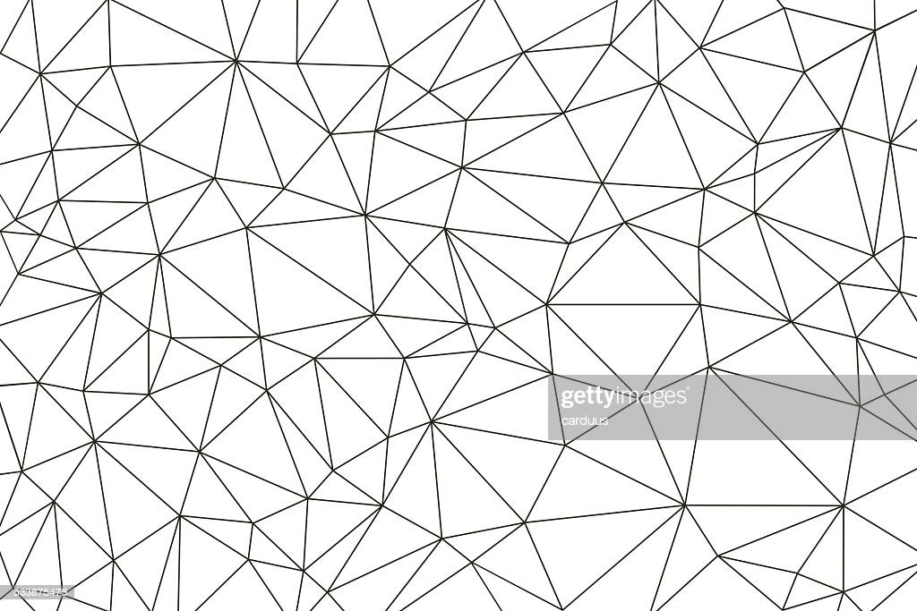 abstract  polygonal  background : stock illustration