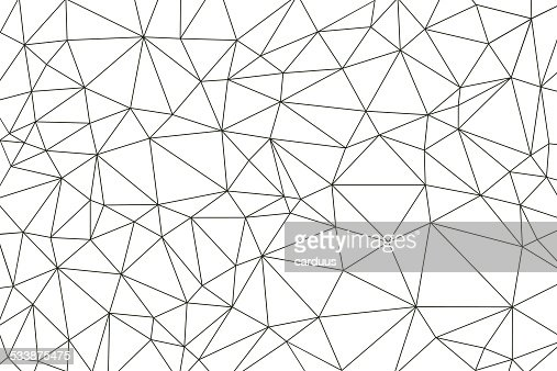 Abstract Polygonal Background Vector Art Getty Images