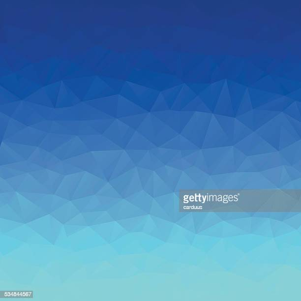 ilustraciones, imágenes clip art, dibujos animados e iconos de stock de abstract polygonal fondo azul - azul marino