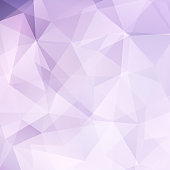 Abstract polygonal light background. Pastel pink geometric vector