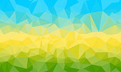 Abstract Polygonal Triangle Background.Abstract Polygonal Triangle Background. Vector Polygon which consist of triangles. Geometric background in Origami style. Geometric background in Origami style.