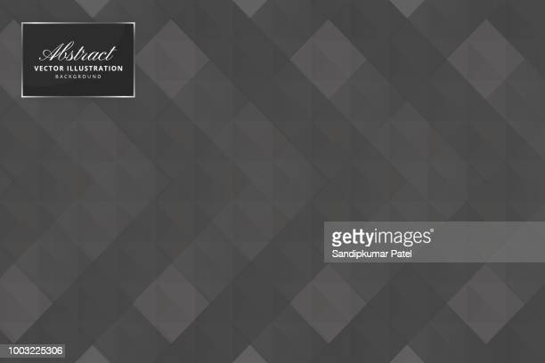 Abstract polygonal triangles background