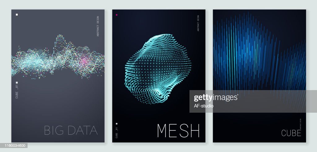 Abstract Poster Background with Copy Space : stock illustration
