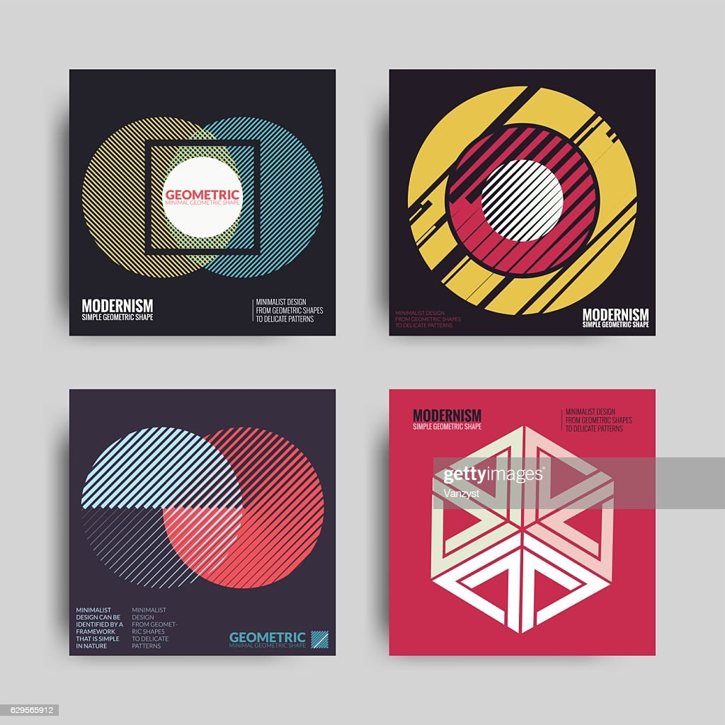 Abstract Posters Art Graphic Backgrounds