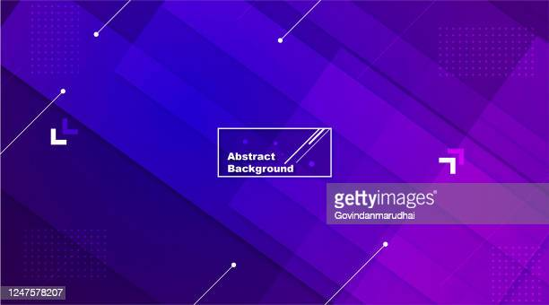 abstract purple and blue vector background - purple background stock illustrations