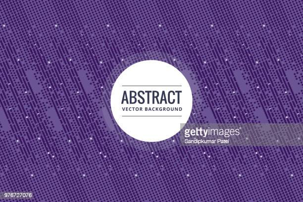 abstract purple halftone background - purple background stock illustrations, clip art, cartoons, & icons