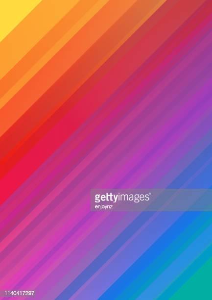 抽象的な虹の背景 - レインボーフラッグ点のイラスト素材/クリップアート素材/マンガ素材/アイコン素材
