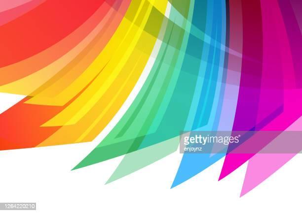 抽象的な虹の背景 - ゲイ点のイラスト素材/クリップアート素材/マンガ素材/アイコン素材