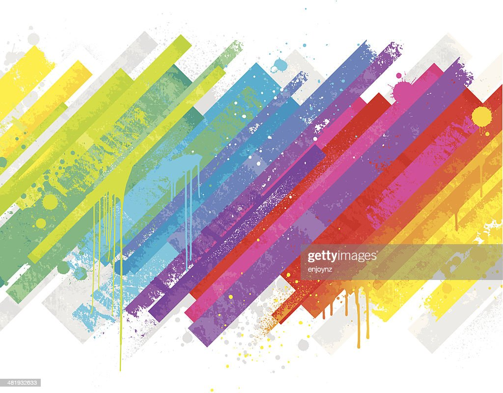 Abstract rainbow background : stock vector