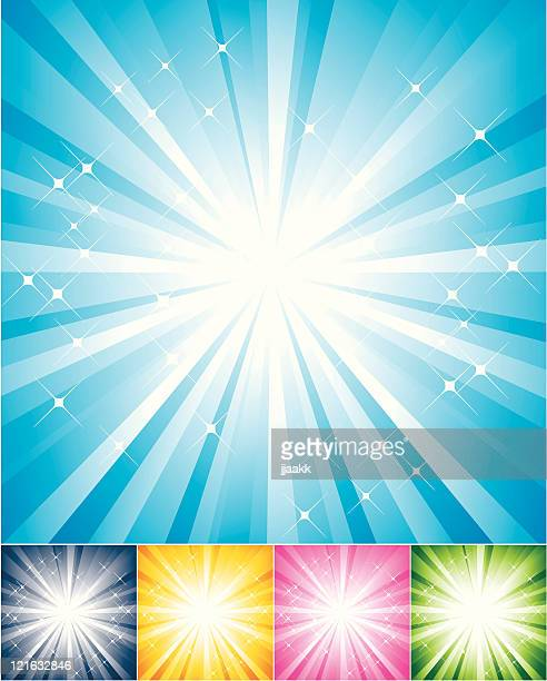 Abstract rays backdrop