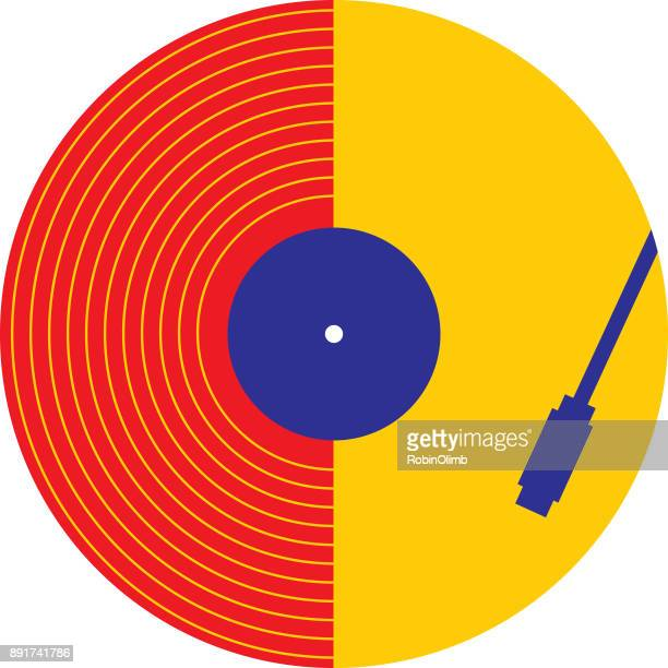abstract record playing - jazz stock illustrations, clip art, cartoons, & icons