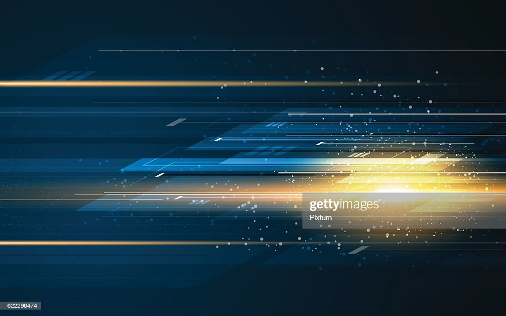 abstract rectangle pattern tech speed movement pattern design background concept