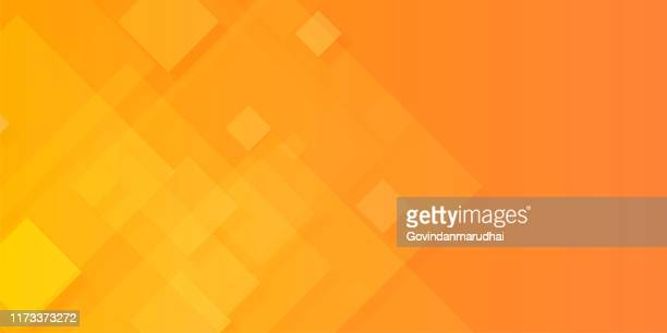 abstract red and yellow background - square stock illustrations