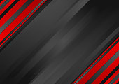 Abstract red black striped corporate background
