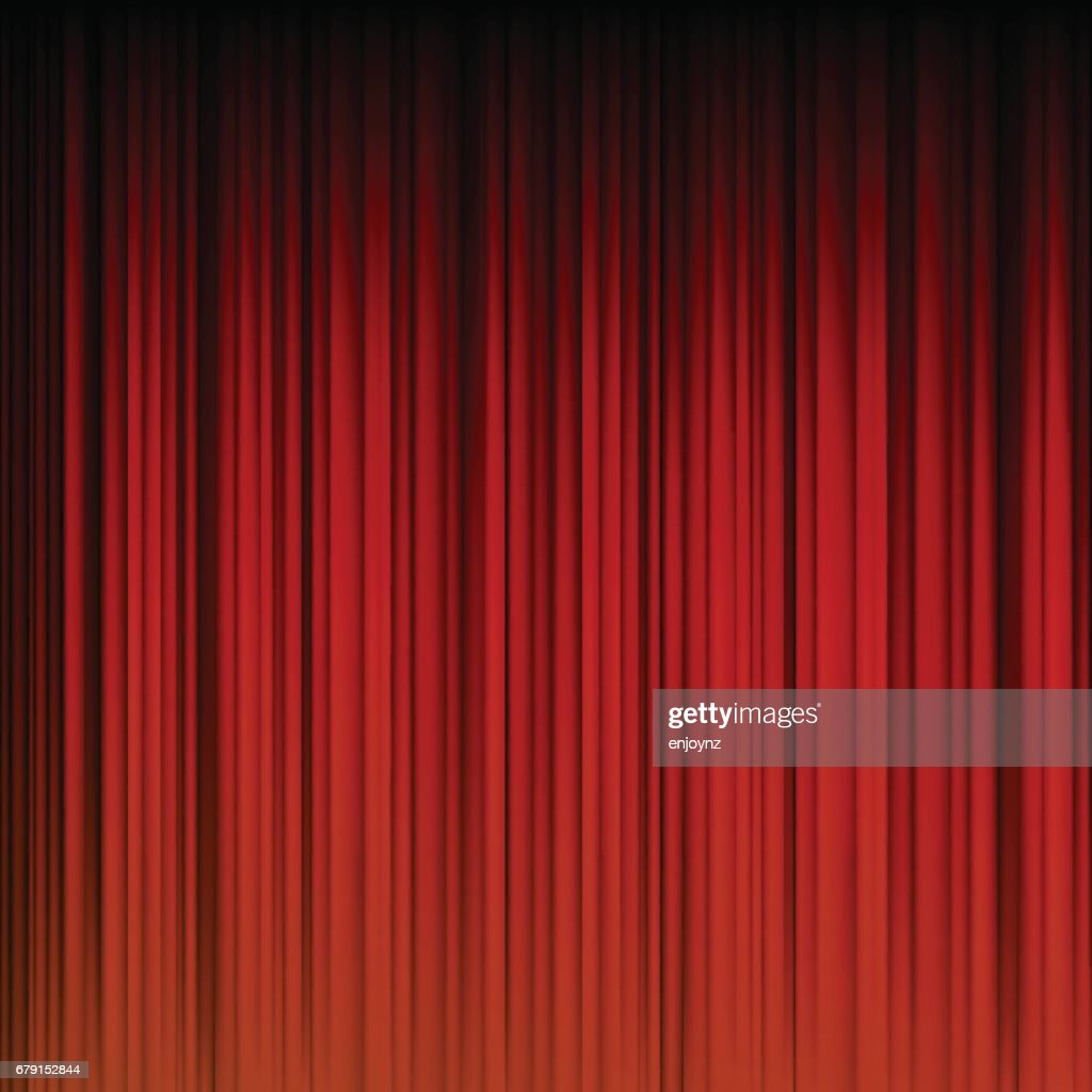 abstract red curtain background : stock illustration