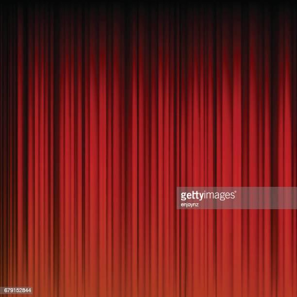 abstrakten roten vorhang hintergrund - roter hintergrund stock-grafiken, -clipart, -cartoons und -symbole