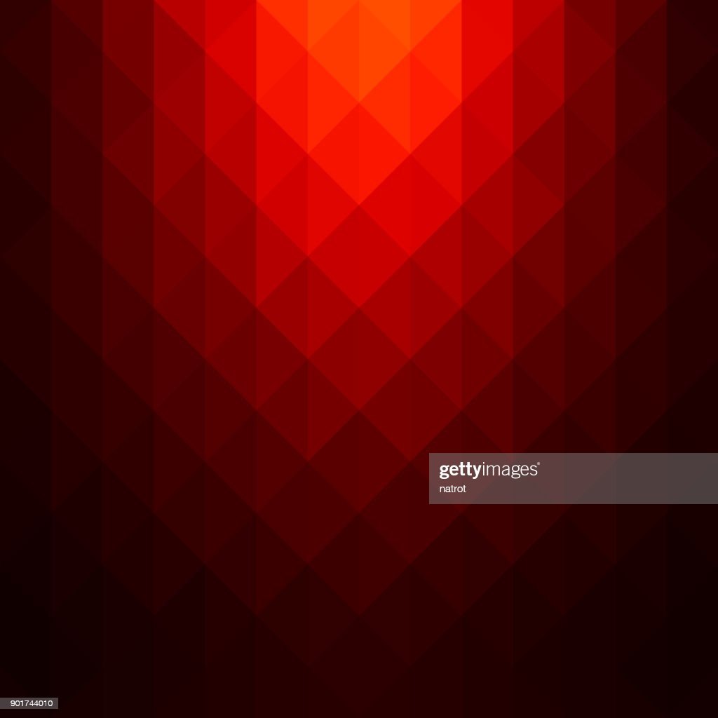 Abstract red geometric background