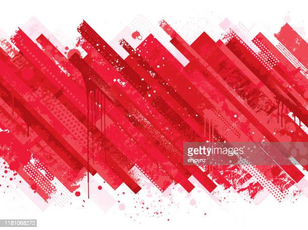abstract red grunge background - killing stock illustrations