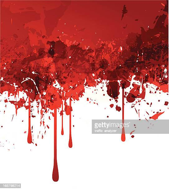 abstract red grunge background - blood stock illustrations, clip art, cartoons, & icons