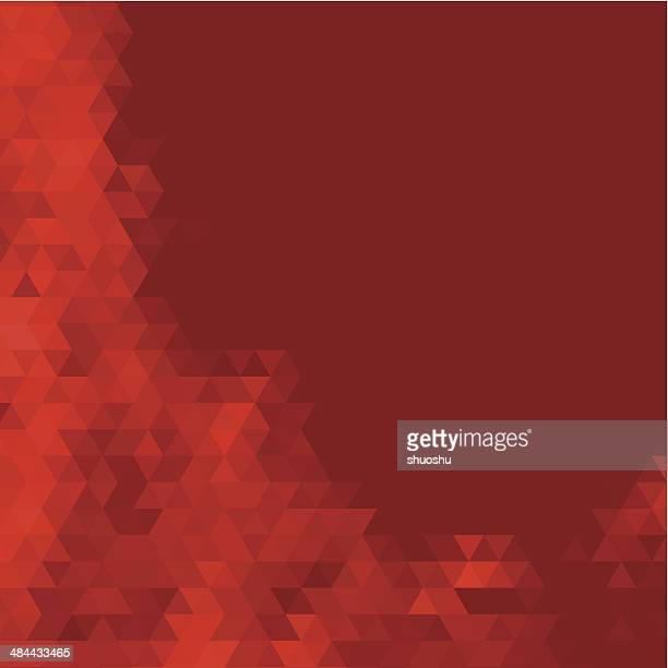 abstract red rhombus pattern background