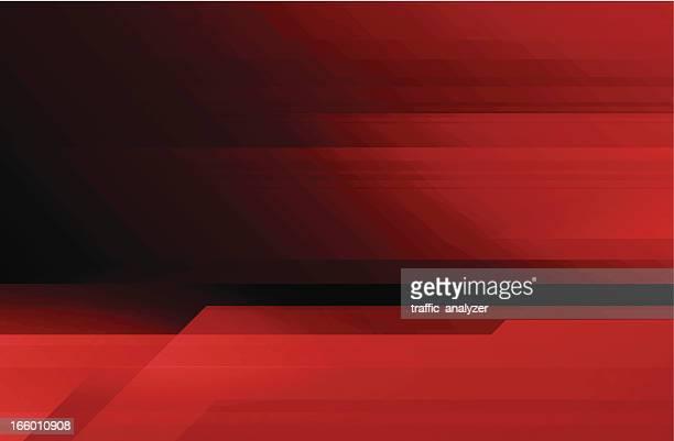 Fond abstrait technologie rouge