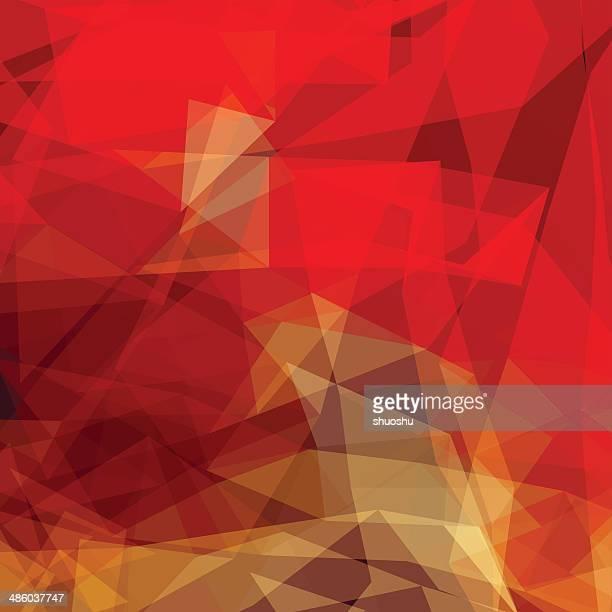 Abstrato vermelho fundo de transparência forma