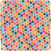 Abstract retro geometric scratched background. EPS8 texture