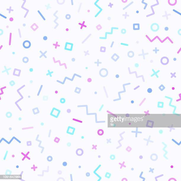 abstract retro line background - shape stock illustrations