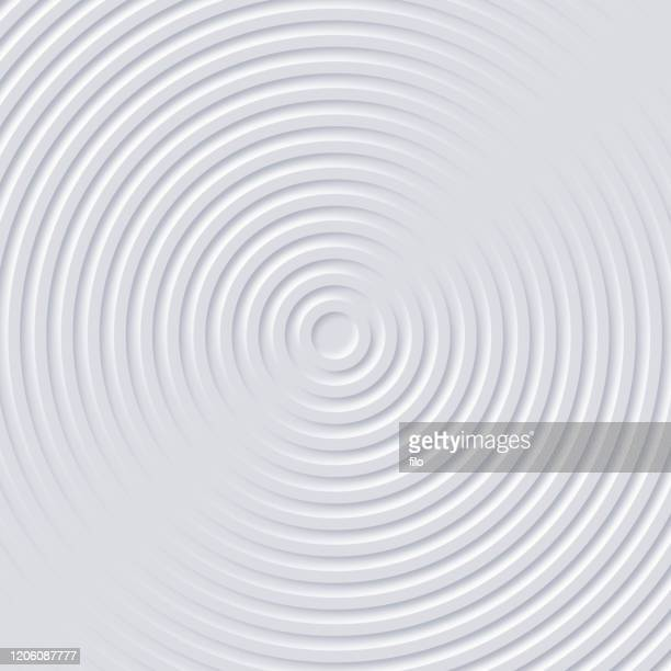 abstract ripples circle background - ribbed stock illustrations