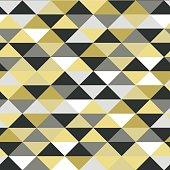 Abstract seamles vector metallic pattern